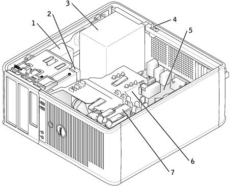 Mini Tower Computer Dell Optiplex Gx620brusers Guide