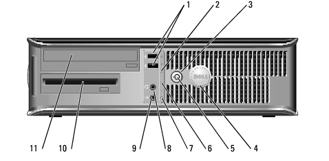 Desktop Computer: Dell OptiPlex GX620 User's Guide